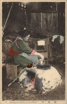 Reeling the Silk Out of Cocoons | Japan