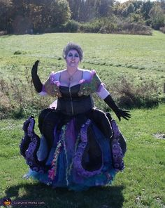 Jennifer: Myself is wearing the costume and for the most part it is home made. I came across a few inspirations online. One of which was entered in one of your...