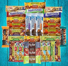 Fitness Box - Protein & Healthy Granola Bars Sampler Snack Box (30 Count) - Care Package - Gift Pack - Variety of Fitness, Energy Bars and KIND Bars. -- Details can be found by clicking on the image. (This is an affiliate link) #healthysnacks