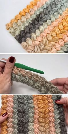 Crochet Braided Stitch - Free Tutorial - Design Peak - Knitting is so easy . - Crochet Braided Stitch – Free Tutorial – Design Peak – Knitting is as easy as 3 Knittin - Crochet Stitches Free, Stitch Crochet, Free Crochet, Knit Crochet, Crochet Feathers Free Pattern, Easy Crochet, Basket Weave Crochet, Different Crochet Stitches, Dishcloth Crochet
