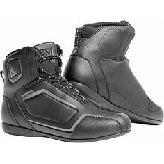 EU 45 Jet Motorcycle Motorbike Shoes Boots Casual Short Ankle Denim Cow Suede Waterproof Armoured Full Black, 11 UK