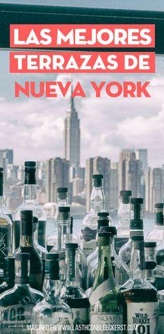 Acaba el día tomando un coctel en una de las mejores terrazas de Nueva York.