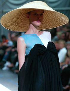 Yohji Yamamoto Haute Couture Fall 2003.