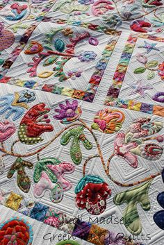 This quilting is stunning - by Judi Madsen of Green Fairy Quilts