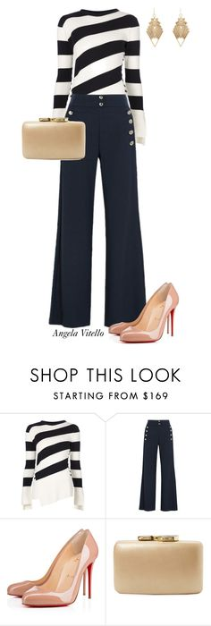 """""""Untitled #681"""" by angela-vitello on Polyvore featuring Alexander McQueen, Chloé, Christian Louboutin, Kayu, Charlotte Russe, women's clothing, women, female, woman and misses"""