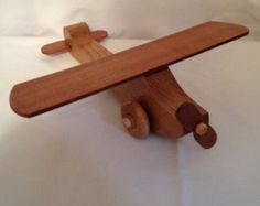 Popular items for wooden toy planes on Etsy