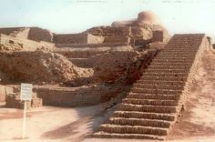 Mohenjo-daro or Moenjodaro, the ruins of one of the advanced settlements of the Indus Valley Civilization, is located in the present day Sindh province in Indus Valley Civilization, Cradle Of Civilization, Ancient Indian History, Harappan, Mohenjo Daro, Amazing India, Ancient Architecture, Ancient Civilizations, Pakistan