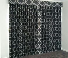 The team at Dollar Curtains in Ballarat have done a wonderful job with Tosca curtains and a matching pelmet