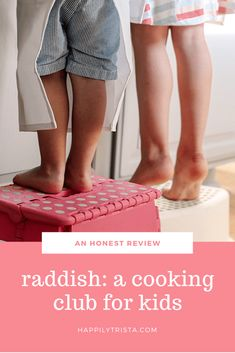 An Honest Review of Raddish: A Cooking Club for Kids | #ad #RadKidsCook #Raddish Kids #KidsintheKitchen #CookingwithKids #RaddishPartner