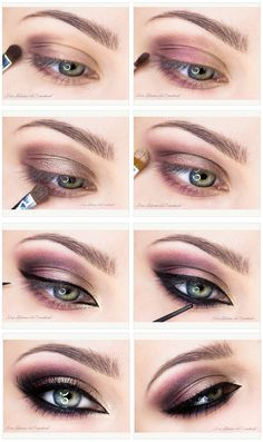 Beautiful champagne  purple makeup tutorial. [Sites in Polish]     PROMOTIONS Real Techniques brushes makeup -$10 http://youtu.be/HebBcrOTNtU   #realtechniques #realtechniquesbrushes #makeup #makeupbrushes #makeupartist #makeupeye #eyemakeup #makeupeyes