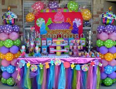 "Candy Land / Birthday ""Valerie's Candy Land "" 