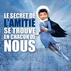 """""""Le secret de l'amitié se trouve en chacun de  nous. """"Ondine -  © Disney #CLOCHETTE"""