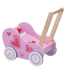 Classic World Toys Doll Stroller Pink - Pink Stroller - Ideas of Pink Stroller - Classic World Toys Doll Stroller Pink Doll Toys, Baby Dolls, Wooden Cart, Up Theme, Pink Doll, Wooden Dolls, Classic Toys, Sport, Baby Clothes Shops