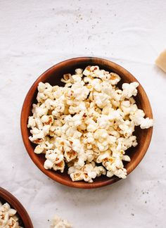 Lemon, Parmesan and Black Pepper Popcorn - Cookie and Kate