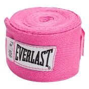 That pink hand wraps go really well with those pink boxing gloves he gave me & that a heavy bag is a great way to decompress after a bad day.