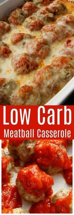 Low Carb Meatball Casserole!!! - 22 Recipe