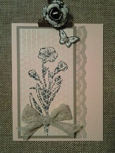 One way to use the Stampin' Up new Color Me Irresistible Specialty DSP.  Visit www.stamponwithheart.blogspot.com