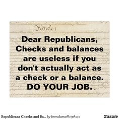 Republicans need to step up and put a stop to Trump's imperial presidency. Checks and Balances Do Your Job #anti-trump #TrumpRussia #SpecialProsecutorNow