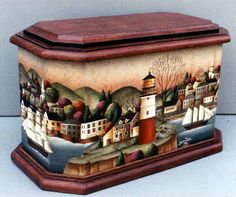 Harbor Village by Betty Caithness- I love this!