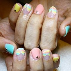 Summer pastels!   #nails #nailsg #nailart #nailmax #nailwow #nailporn #nailswag #nailmania #nailqueen #nailsalon #nailtrend #nailaddict #naildesign #nailstagram #nailsingapore #igsg #igers #igdaily #instapic #instadiary #instanails #dollhousesg #dollhousenails #manicure #gel #gelish #gelnails