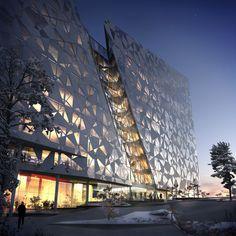 Deloitte office building in Oslo, Norway.