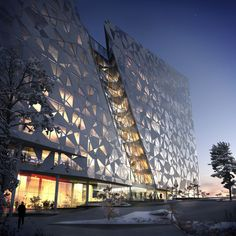 Deloitte office building in Oslo, Norway.