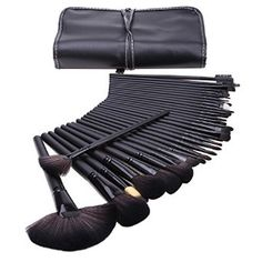 32 Stk. Make Up Pinsel set mac profi Kosmetik Make-up Pinsel mit Halter Tasche