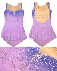 Kimberly Pascua Designs - Figure skating dress, baton twirling dress, ice skating dress, ice dress, ice dancing dress, leotard, costume, dance costume