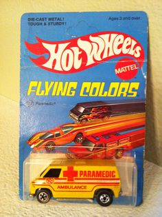 Paramedics Super Van - Mint car in Flying Colors blister pack.               Item Price:  $44.95