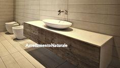 LINEARMOD S.A.S. arredo bagno in legno | mobili bagno in legno ...