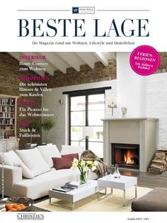 Die neue BESTE LAGE, das Magazin rundum Wohnen, Lifestyle und Immobilien, ist erschienen. Hier können Sie sich das Magazin anschauen ->