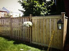 images  fence gap ideas  pinterest fence