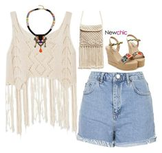 """NC 3.28"" by emilypondng ❤ liked on Polyvore featuring Topshop"
