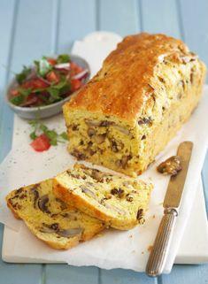 Mushroom, biltong and cheddar loaf | Desserts & Baking | Fairlady