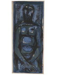 TYEB MEHTA (1925-2009) Indian Artist, Auction, Artists, Illustration, Painting, Painting Art, Paintings, Illustrations, Painted Canvas