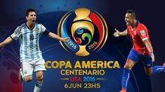 Buenos días amigos!HOY 23Hs .AR vs .CL#copaamerica100