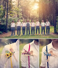 This is too cute. I love this idea for the groomsmen.