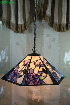 Rose Tiffany Lamp  20S0-254P11