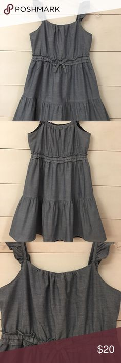 Girl's Chambray Dress by American Living! Adorable Chambray dress by American Living. Great condition! Super cute with a cardigan and sandals or converse! Size 12. Bundle with my other listings and save. American Living Dresses Casual