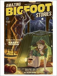 Amazing #Bigfoot Stories Playing #Card Deck -52 Card Poker Size with Jokers