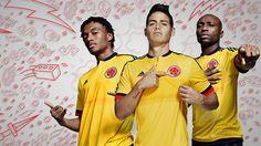 buy online ff9fc 97f30 adidas Presentó Camiseta de la Selección para la Copa América 2015  Federacion Colombiana De Futbol,