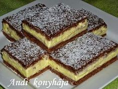 To je nápad! Hungarian Cake, Hungarian Recipes, Sweet Cookies, Cake Cookies, Sweet Desserts, No Bake Desserts, My Recipes, Cookie Recipes, European Dishes