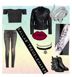 """""""The outsiders Dallas"""" by demongrasergirl on Polyvore featuring Sisters Point, R13, MANGO, Effy Jewelry and Charlotte Russe"""