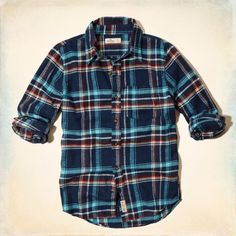 Broad Beach Flannel Shirt