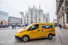 DHL choisit le Nissan e-NV200 pour sa flotte Italienne - via Nissan Aix-en-Provence www.nissan-couriant.fr