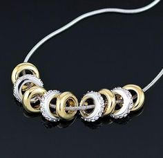 Sterling Silver Charm Necklace - Save 85% Just $18 -