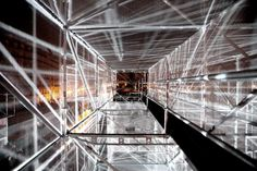 1024 - 1024 architecture / Creative Label / Art Installation / Video Mapping / ex- EXYZT