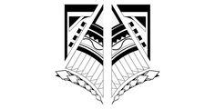 Maorí on Behance Animal Stencil, Maori Designs, Cool Necklaces, Tatting, Stencils, Behance, Darth Vader, Kitty, Tattoo Flash