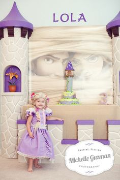 "Photo 1 of 44: Rapunzel/ Tangled/ Princess / Birthday ""Lola's Best Day Ever!!!"" 