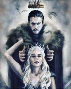 Game of Thrones fan art, Daenerys Targaryen, Jon Snow, Jonerys Art Game Of Thrones, Dessin Game Of Thrones, Game Of Thrones Facts, Game Of Thrones Dragons, Game Of Thrones Quotes, Game Of Thrones Ending, Game Of Thrones Tattoo, Jon Snow And Daenerys, Game Of Throne Daenerys